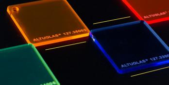 Флуоресцентний акрил