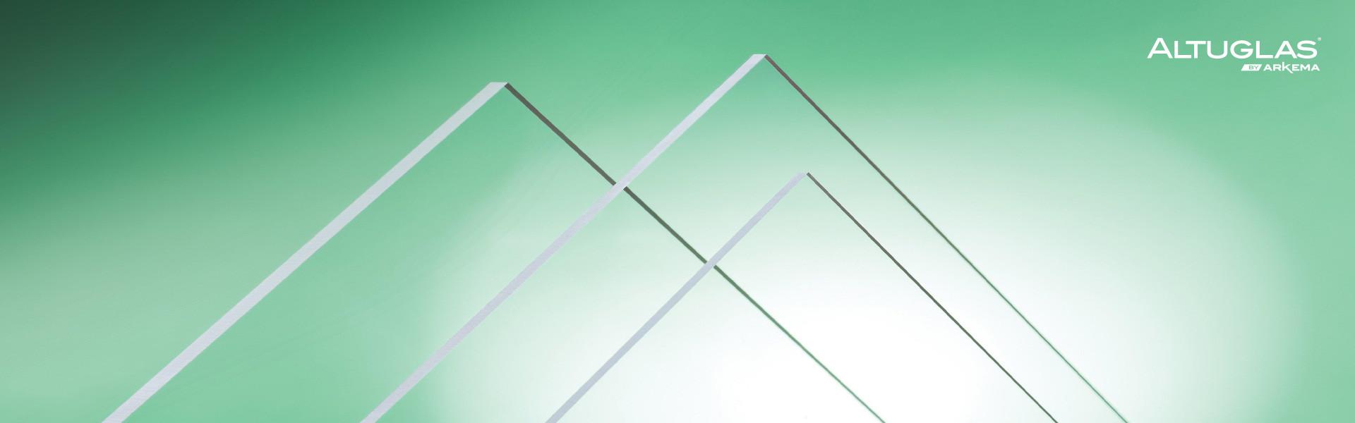 Знижка на литий прозорий акрил ALTUGLAS 4 мм – 41,53 € за м.кв