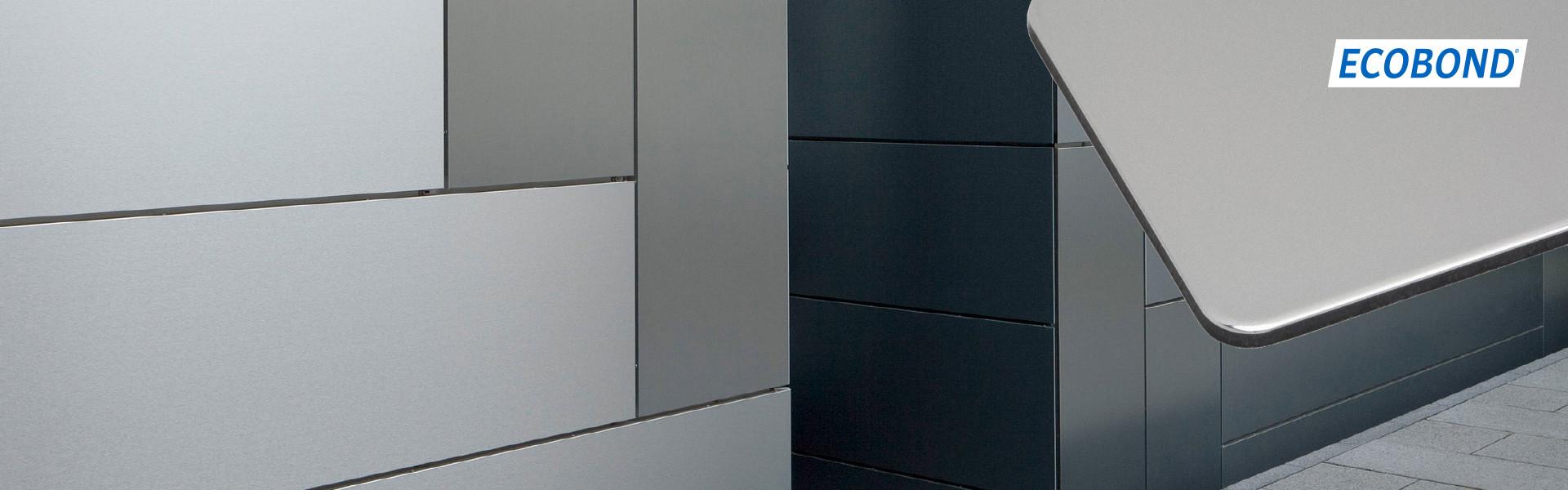 Акция на композитную панель ECOBOND – 12,8 $ за м2